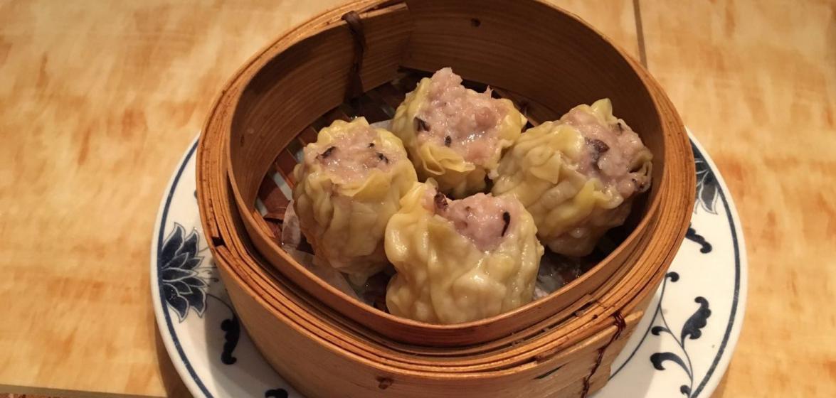 Siu Mai (pork & shrimp dumplings)